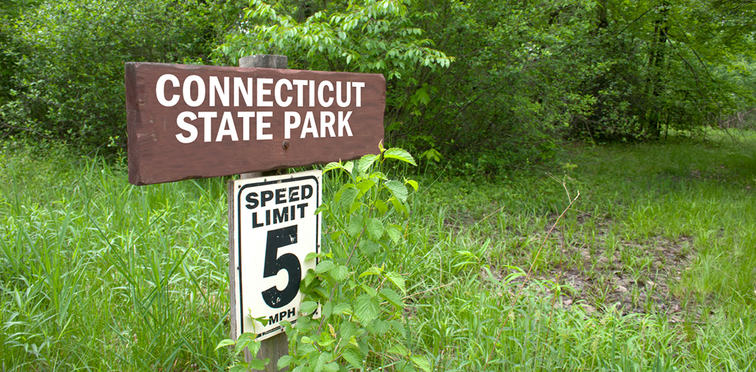 ct state park sign