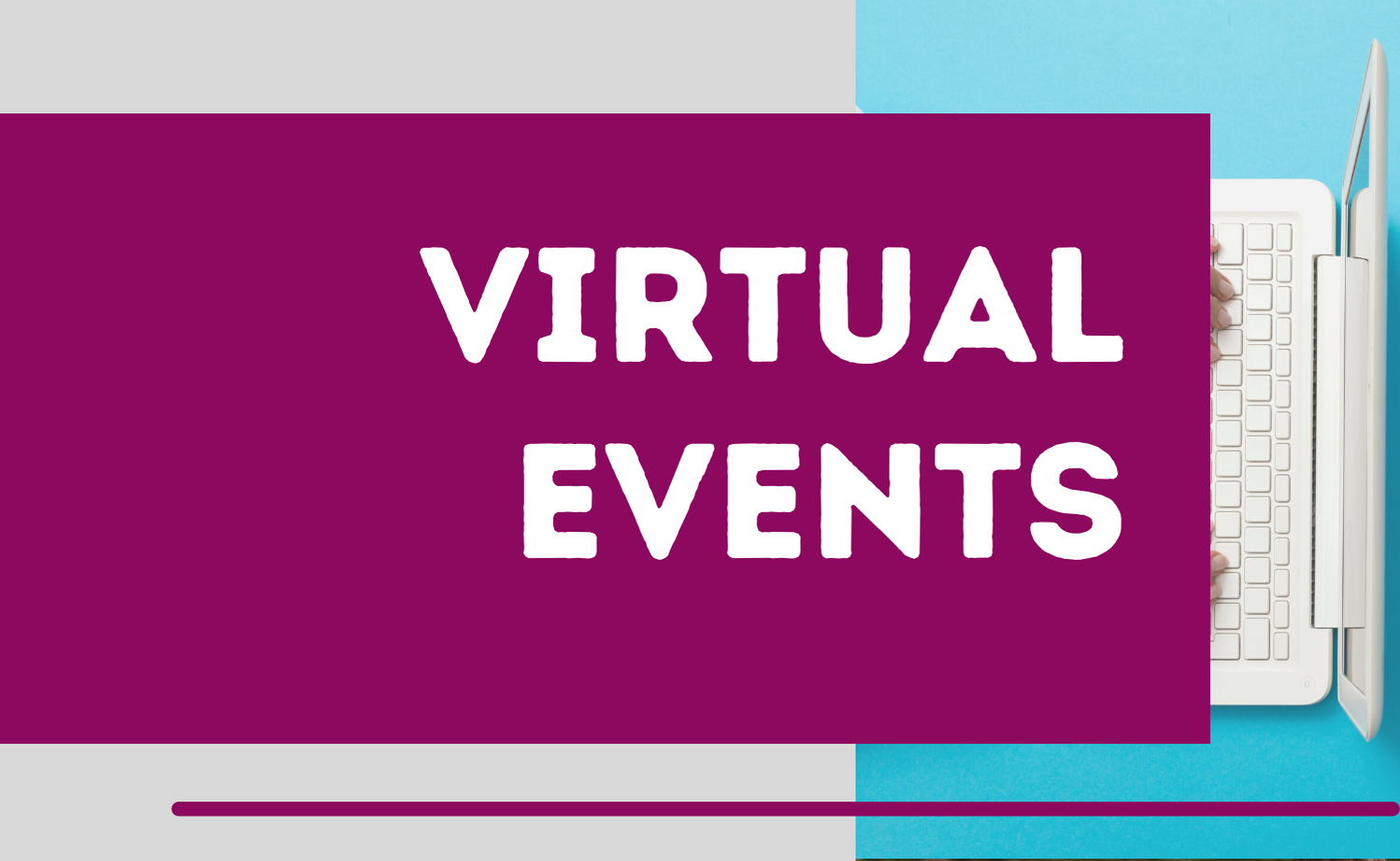 button grey virtual events